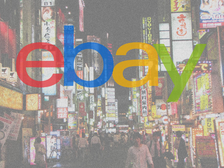 eBay Japan history, interesting facts