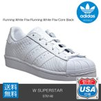 ADIDAS ORIGINALS SUPERSTAR W (S76148) Running White Ftw/Running White Ftw/Core Black アディダス オリジナルス レディース スーパースター