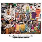 (おまけ付)Superfly 10th Anniversary Greatest Hits『LOVE, PEACE & FIRE』 (通常盤) / Superfly スーパーフライ (3CD) WPCL-12621-SK